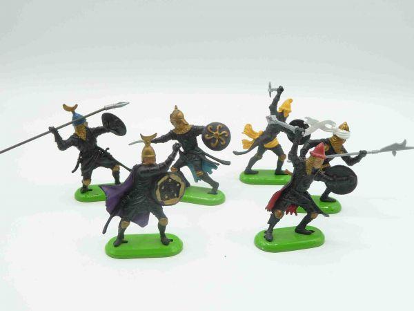 Britains Deetail Gruppe Sarazenen (made in China), 6 Figuren