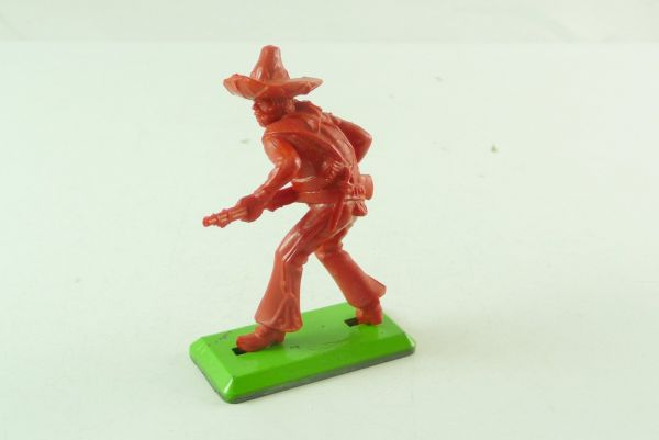 Britains Deetail Mexican going ahead with rifle - rare blank figure