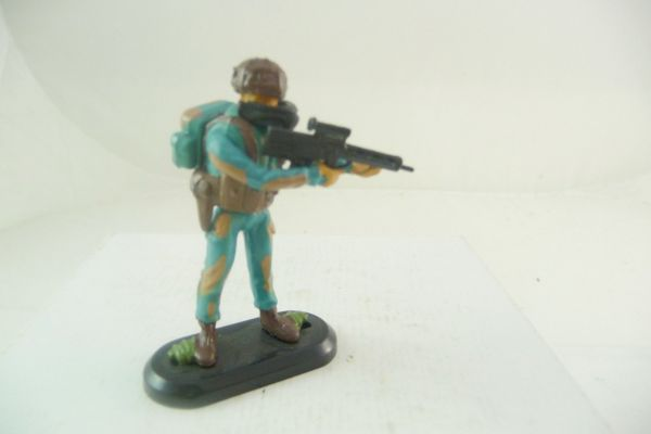 Britains Deetail Task Force Special Unit Soldier with MG