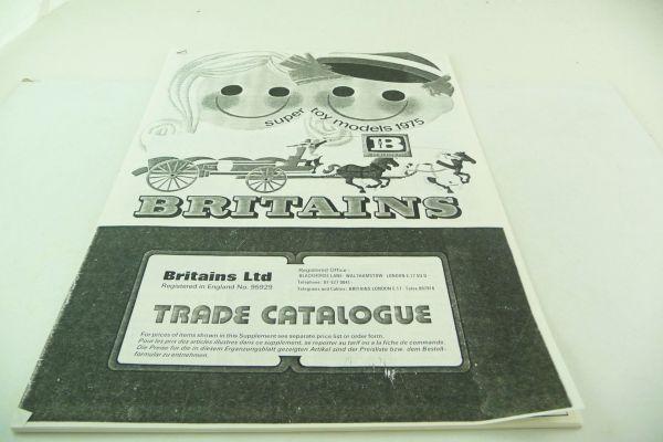 Britains Black/white copy catalogue 1975, loose leaf collection