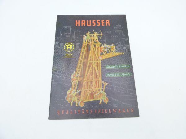 Original Katalog Hausser Spiele + Figuren 1957, 27 Seiten