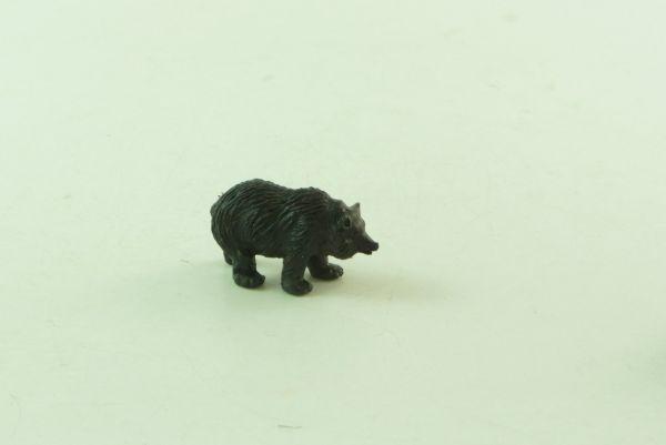 Britains Brown bear cub, No. 1337, dark-brown