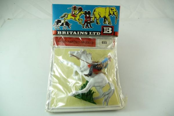Britains Cowboy mounted, 2 pistols on original blister No. 632 - orig. packing