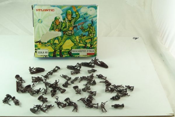 Atlantic 1:72 Paratroopers Paracadutisti d'Italia, No. 10004 - orig. packing
