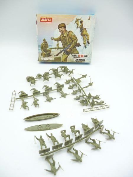 Airfix 1:72 Commandos, Nr. S32 - OVP (Blue Box), Teile am Guss