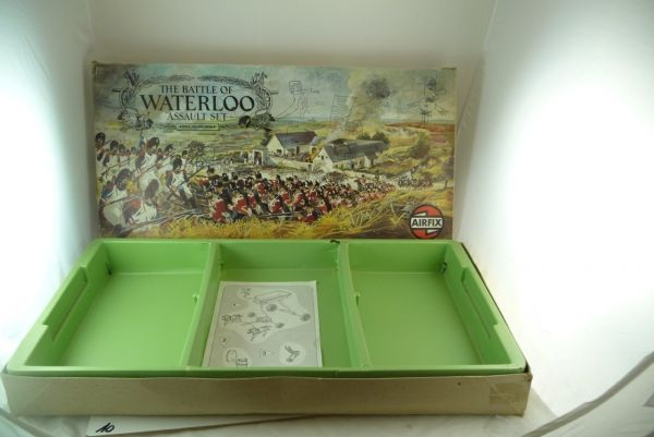 Airfix 1:72 Waterloo Assault Set - Leerbox - Nr. 51653-6 H0-00