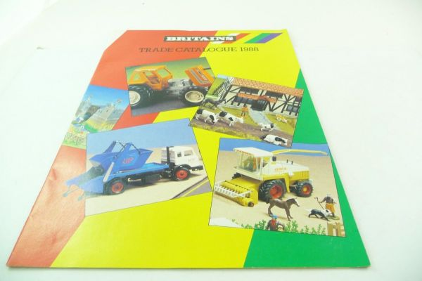 Britains Big retailer catalogue 1988, 23-page colourful illustrated catalogue