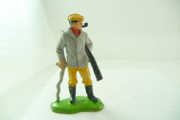 Britains Farmer with stick + rifle - brand new