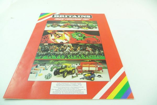 Britains Big retailer catalogue 1982, 23-page colourful illustrated catalogue