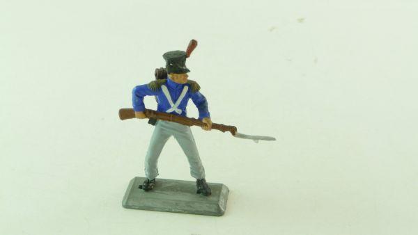 Britains Deetail Waterloo Franzose mit Gewehr vorgehend