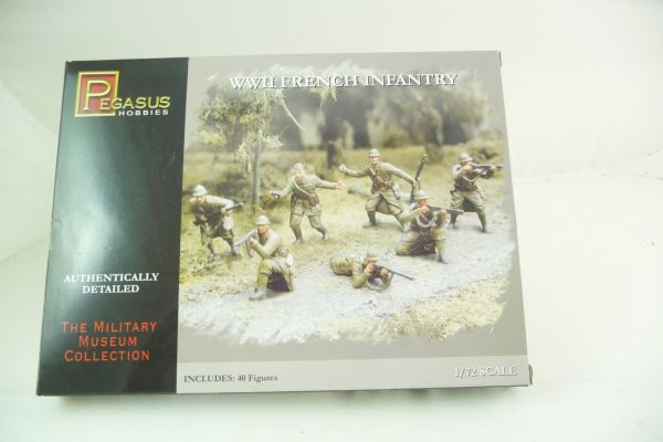 Pegasus Hobbies 1:72 The Military Museum Collection: World War 2; French Infantry