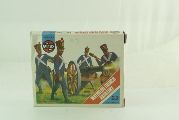 Airfix 1:72 1815 Waterloo - French Artillery, No. 01737-8 - orig. packing