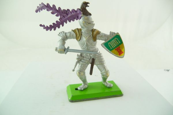 Britains Deetail Knight standing with sword + shield