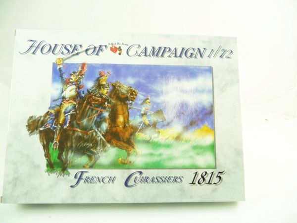 1:72 A Call to Arms House of Campaign, French Curassiers 1815 - orig. packaging, unopened