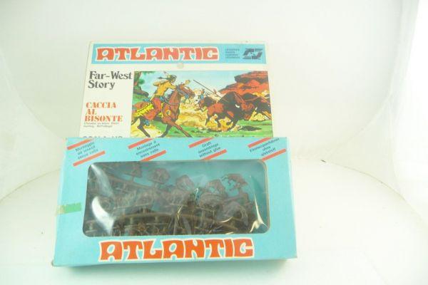 Atlantic 1:72 Far West Story; Caccia Al Bisonte, Büffeljagd - Figuren am Guss