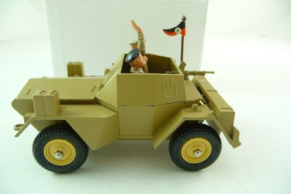 Britains 8th Army Scout Car, No. 9784 - orig. packaging, contents brand new