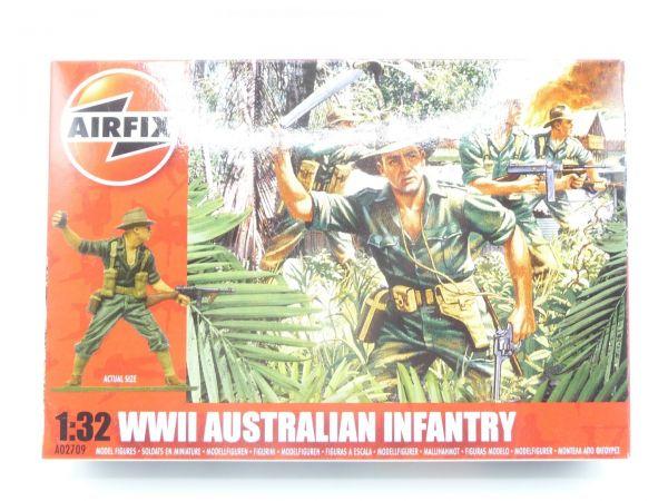 Airfix 1:32 WW II Australian Infantry No. A02709 - orig. packaging, box sealed