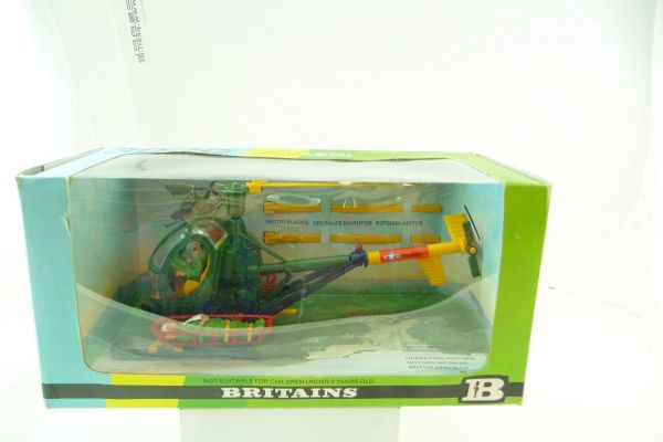 Britains Hughes 300C, US-Army helicopter - in great blister box