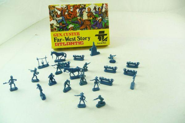 Atlantic 1:72 Far West Story: General Custer, Nr. 1011 - lose, Teile s. Fotos