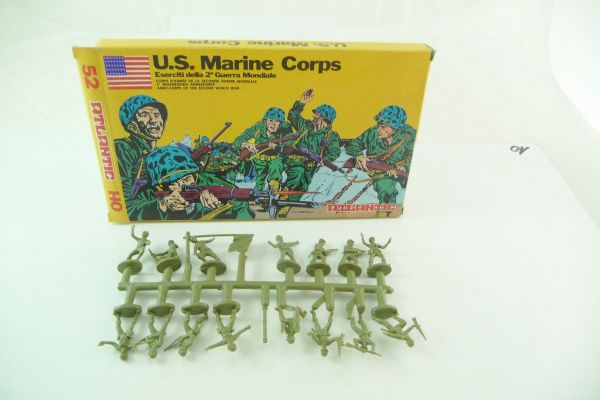 Atlantic 1:72 US-Marine Corps, No. 52 (15 figures + accessories) - orig. packing, shop discovery