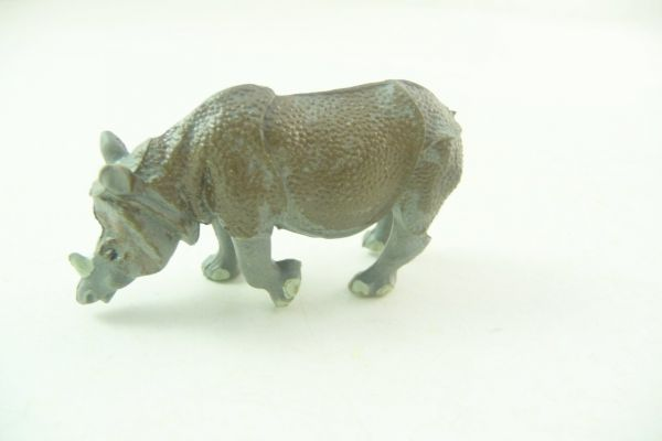 Britains Little rhinoceros - rare, great painting