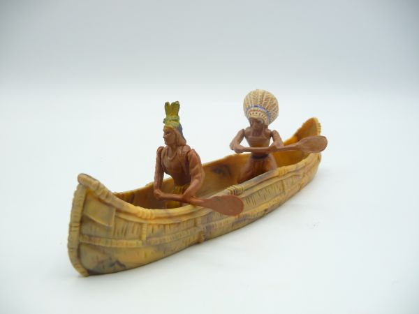 Britains Canoe with 2 Indians
