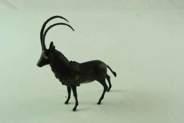 Britains Antelope No. 1359 - early version, black/brown