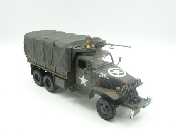 Unimax Toys Forces of Valor Diecast US 21/2 + Cargo Truck D-day - scope of delivery see photos
