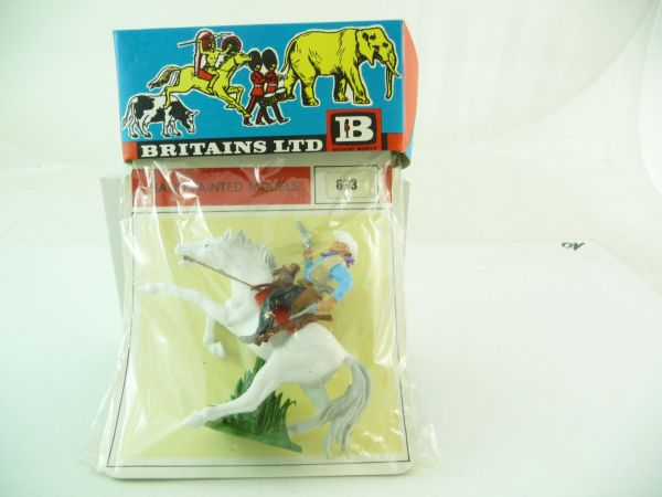 Britains Cowboy riding with 2 pistols, No. 633 - orig. packing, brand new