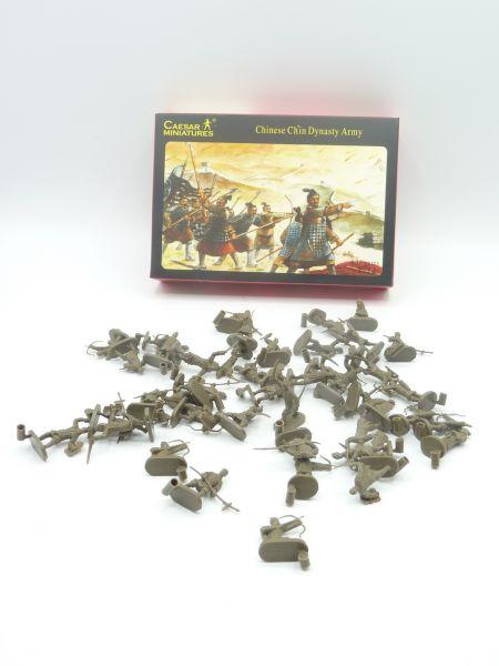 Caesar Miniatures 1:72 Chinese Ch'in Dynasty Army History 004 - OVP, Figuren komplett (42)