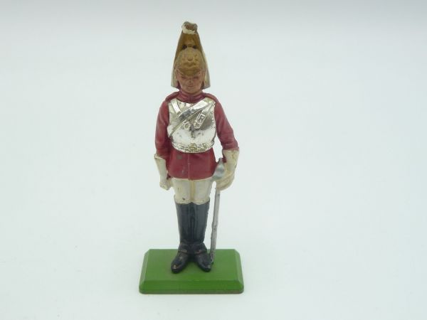 Britains Deetail (Metal) Lifeguard standing, sabre at side
