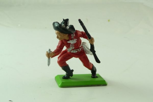 Britains Deetail Mexican standing, red with knife and rifle