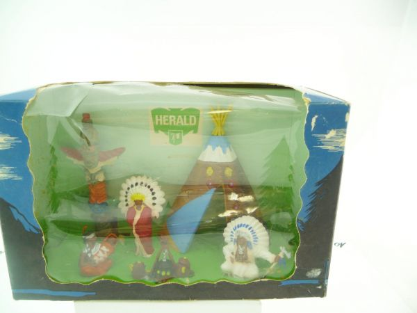 Britains / Herald Indian Encampment, No. 4510 - in great old box