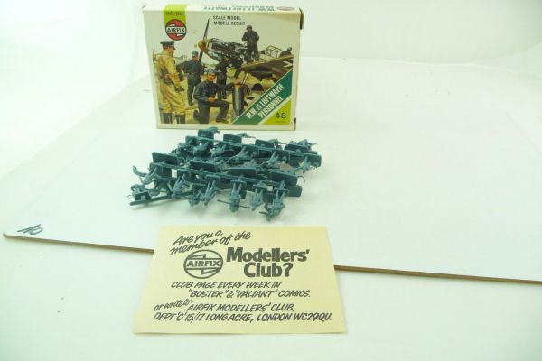 Airfix 1:72 WW II Luftwaffe Personnel S 55 - orig. packaging, figures complete + on cast