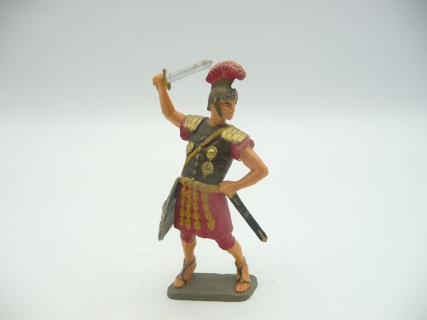 Starlux Römer stehend mit Kurzschwert ausholend - tolle Figur