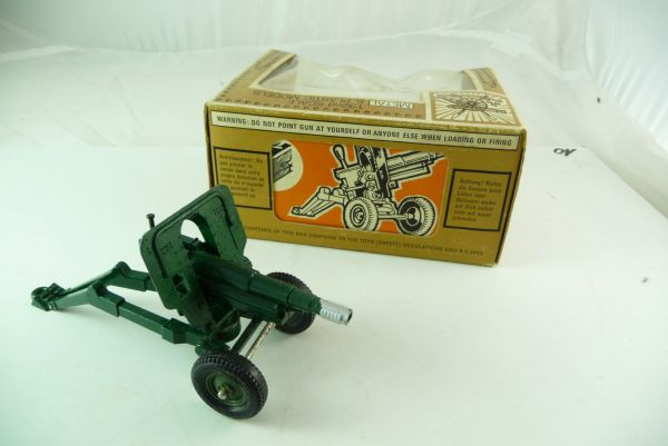 Britains 105 mm Pack Howitzer, No. 9724 - orig. packing