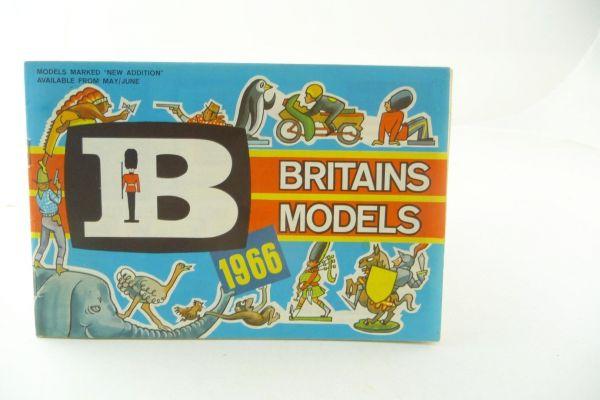 Britains Katalog 1966, 31-seitiger bunt bebilderter Katalog - sehr selten