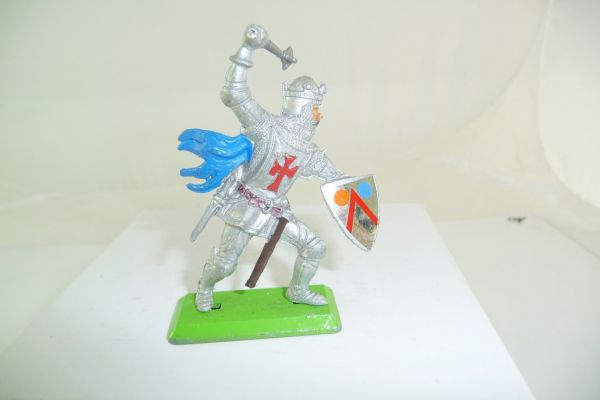 Britains Deetail Knight standing, lunging with mace