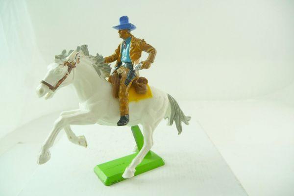 Britains Deetail Cowboy zu Pferd, Pistole ziehend
