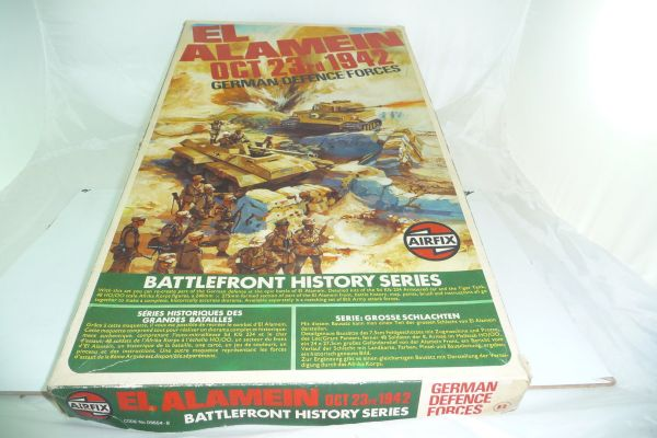 Airfix 1:72 Battlefront History Series: El Alamein Oct. 23rd 1942