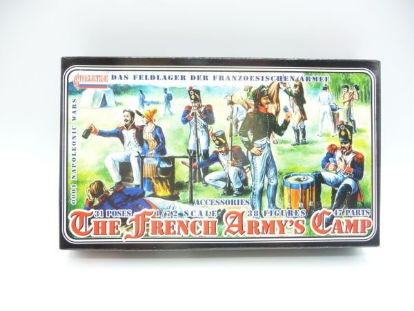 Strelets*R 1:72 The French Army's Camp, Nr. 001 - OVP, Figuren am Guss, Box Top