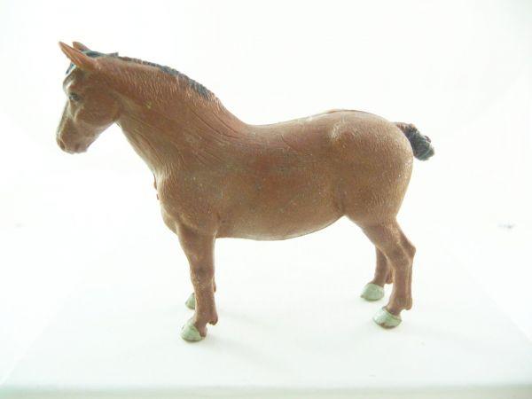 Britains Heavy horse, dark-brown