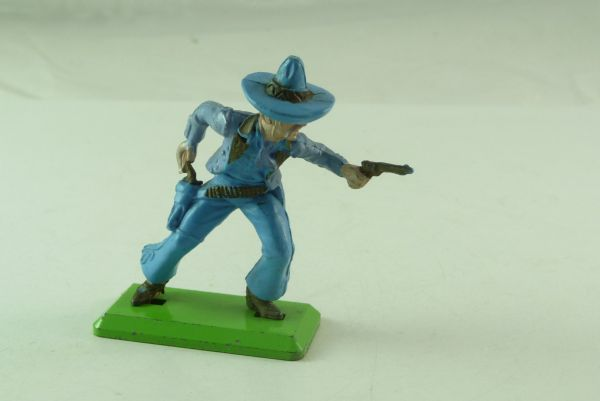 Britains Deetail Mexican going ahead with 2 pistols, light-blue, lilac jackets