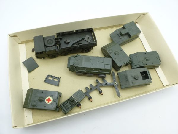 Roskopf Convolute of Vehicles + spare parts (RRM 1:87 / 1:100)